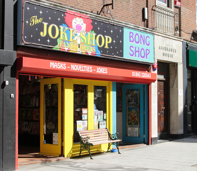 The Joke Shop Margate Kent