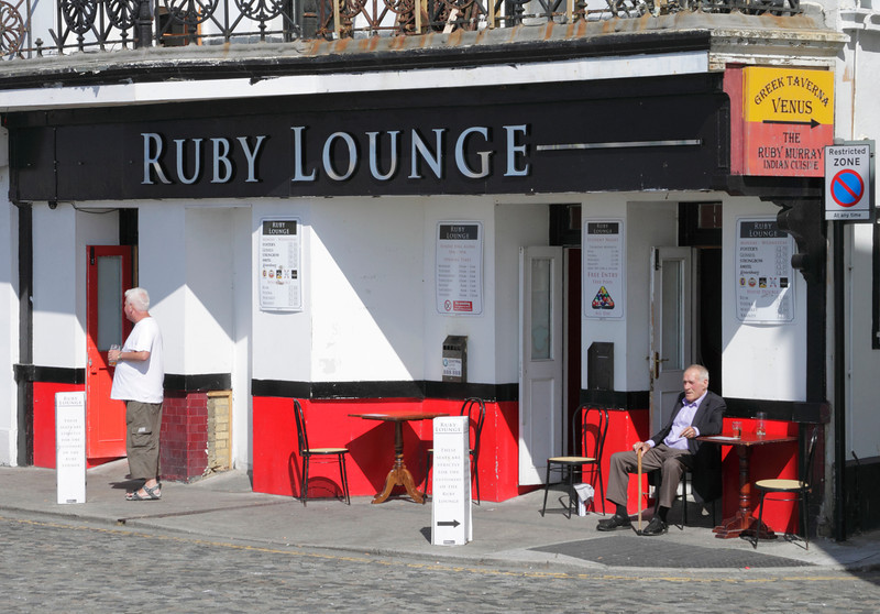 Ruby Lounge pub on the seafront Margate Kent