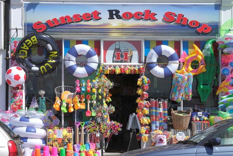 Sunset Rock Shop at Margate seafront Kent