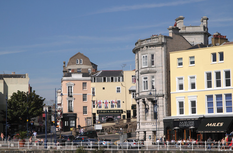 Harbour Parade and Albion Hill Ramsgate Kent