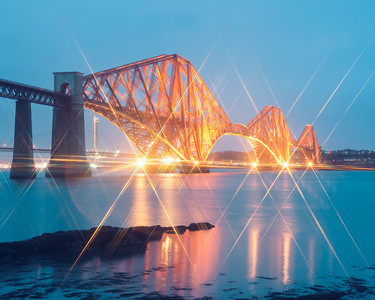Forth Bridge Lights