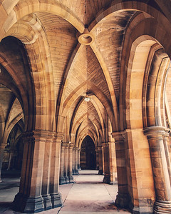 The Glasgow University Cloisters