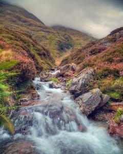 Glencoe Mountain Stream