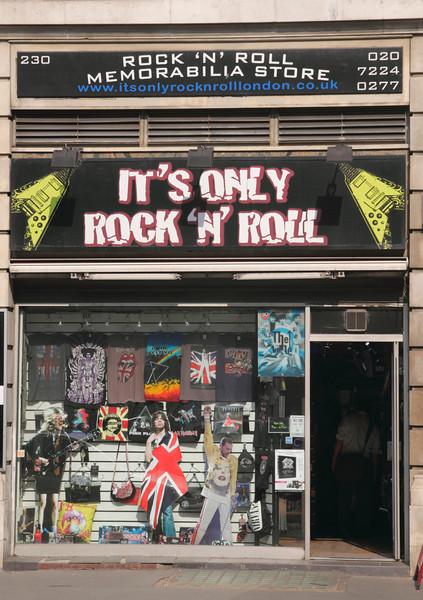 It's Only Rock n Roll Store Baker Street London