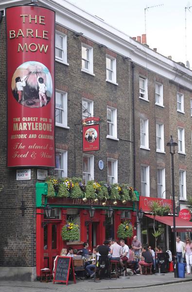 The Barley Mow Pub Marylebone London