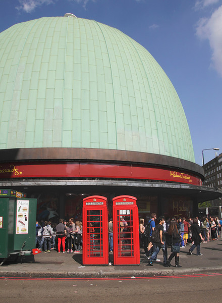 Madame Tussauds Wax Museum Marylebone Road London