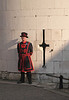 Beefeater at Middle Tower of the Tower of London