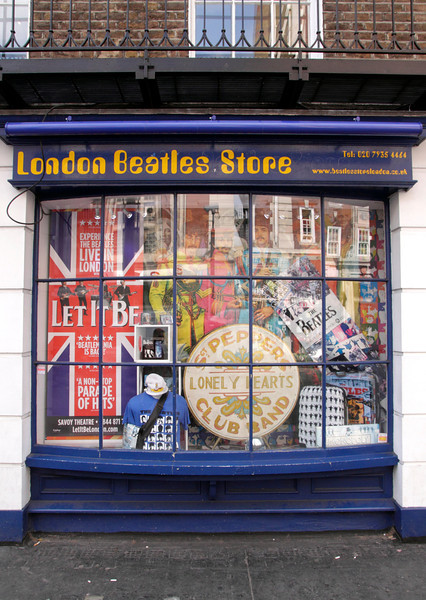 London Beatles Store Baker Street