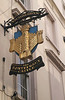 The Pontefract Castle Pub sign Wigmore Street London