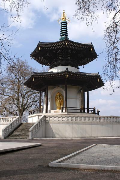 Peace Pagoda Battersea Park London