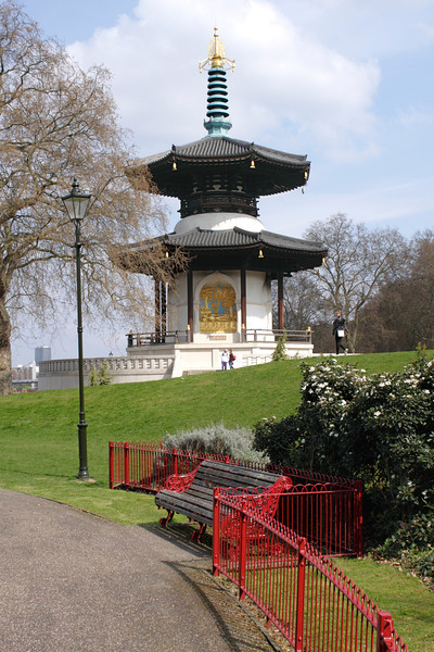 Peace Pagoda Battersea Park London
