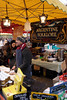 Argentine food stall Borough Market London