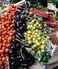 Tomatoes and lemons for sale at the Borough Market London