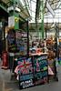 Pimms stall at Borough Market London