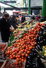 Vegetable stall Borough Market London