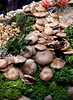 Wild Mushroom stall Borough Market London