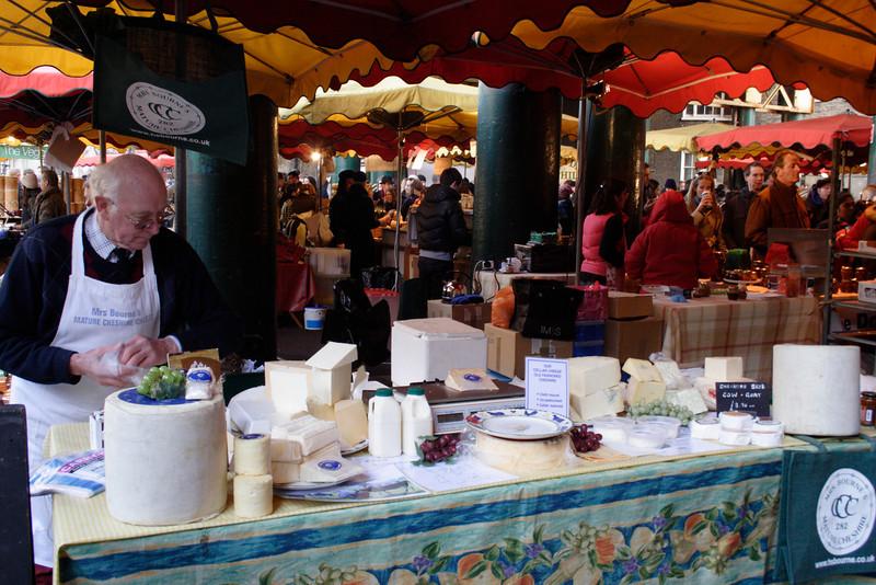 Cheshire Cheese Stall Borough Market London