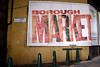 Poster showing entrance to the Borough Market London