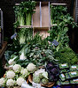 Green Vegetables for sale at the Borough Market London