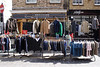 Clothes for sale at Brick Lane Market London