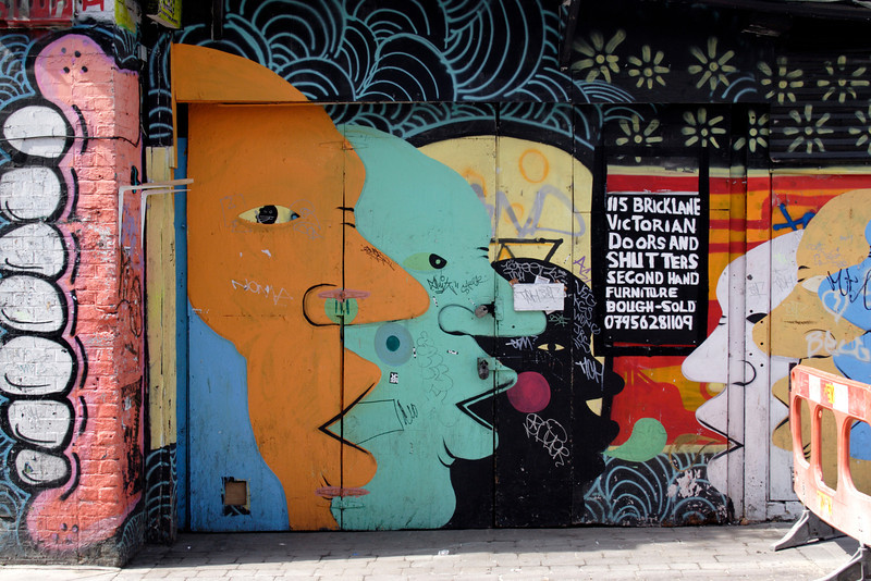 Graffiti at Brick Lane London