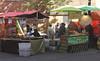 Moroccan Food Stall at Brick Lane London June 2013