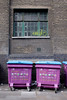 Waste Bins at Brick Lane London