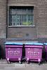 Waste Bins at Brick Lane London
