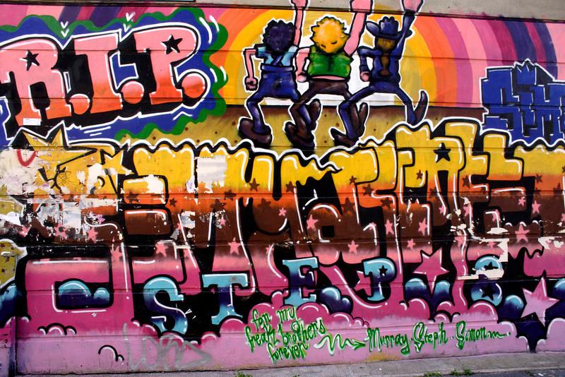 Graffiti Brick Lane London May 2009