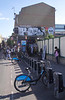 Borris Bikes for hire at Brick Lane London
