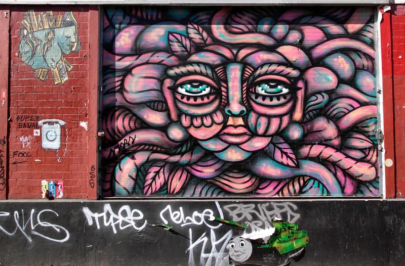 Graffiti Brick Lane London June 2013