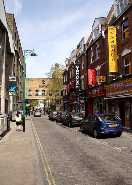 Shops at Brick Lane London