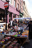 Stall at Brick Lane Market London