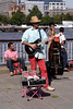 Busker at the Mayor's Thames Festival 2008