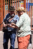 Buskers at Portobello Road London July 2007