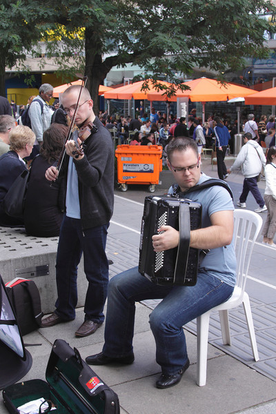 Polish street musicians at The Mayor's Thames Festival 2010