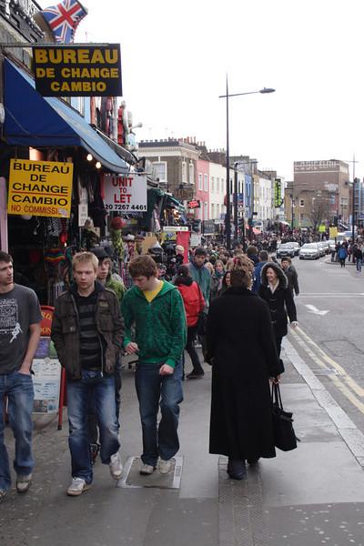 Camden High Street London February 2008