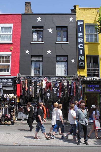 Fashion Shop Camden High Street London July 2010