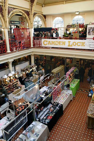 Camden Lock Market London February 2008