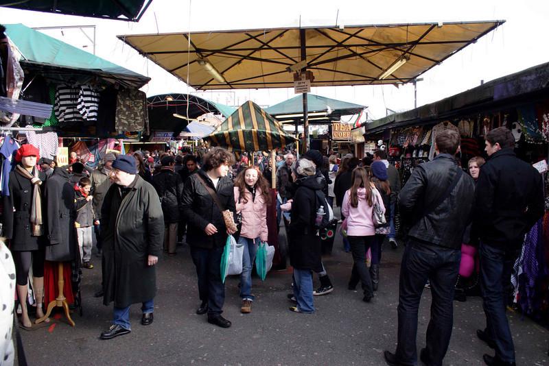 Camden Canal Market London February 2008