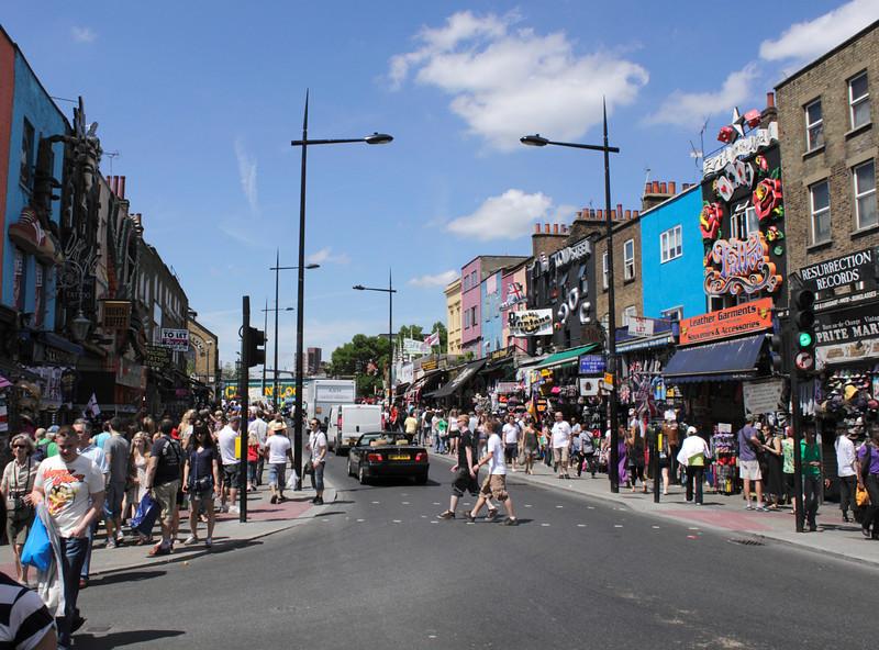 Camden High Street London July 2010