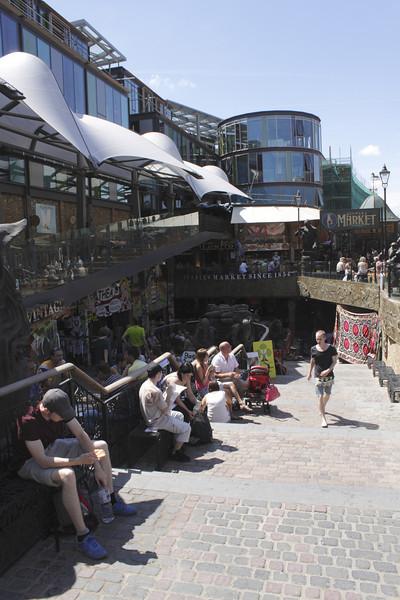 Stables Market Camden London summer 2010