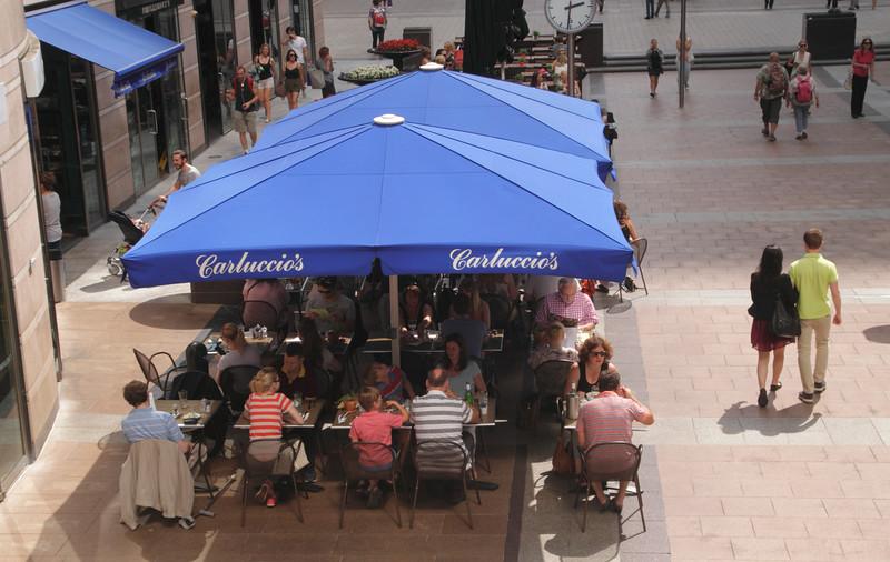 Carluccio's Italian Restaurant Reuters Plaza Canary Wharf Docklands London