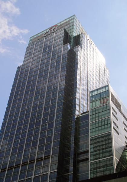 Citi Tower Canary Wharf Docklands London England