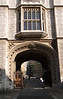 Chancery Lane entrance gate to Kings College Library London