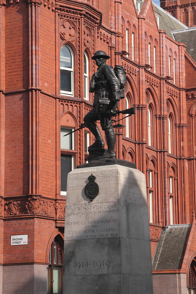 Royal Fusiliers Memorial High Holborn London