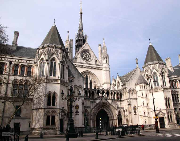 Royal Courts of Justice Strand London