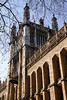 Kings College Maughan Library London view from Fetter Lane