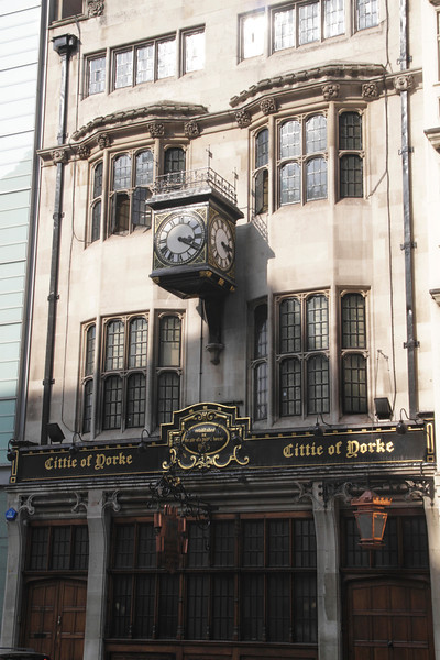 Cittie of Yorke Pub High Holborn London