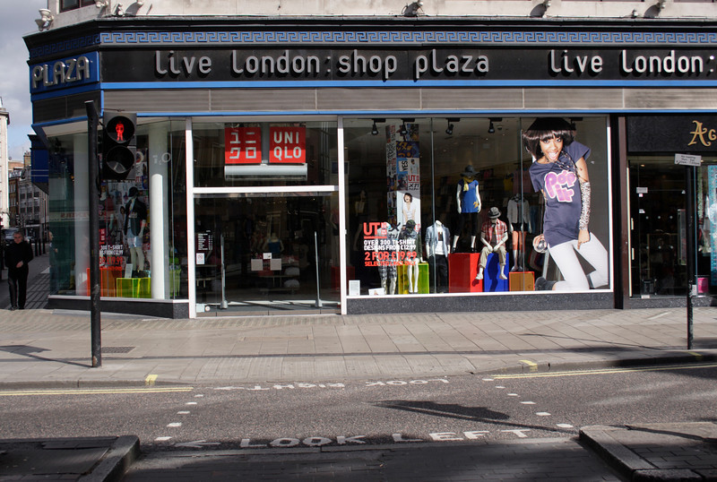 Live London shop Oxford Street  May 2009